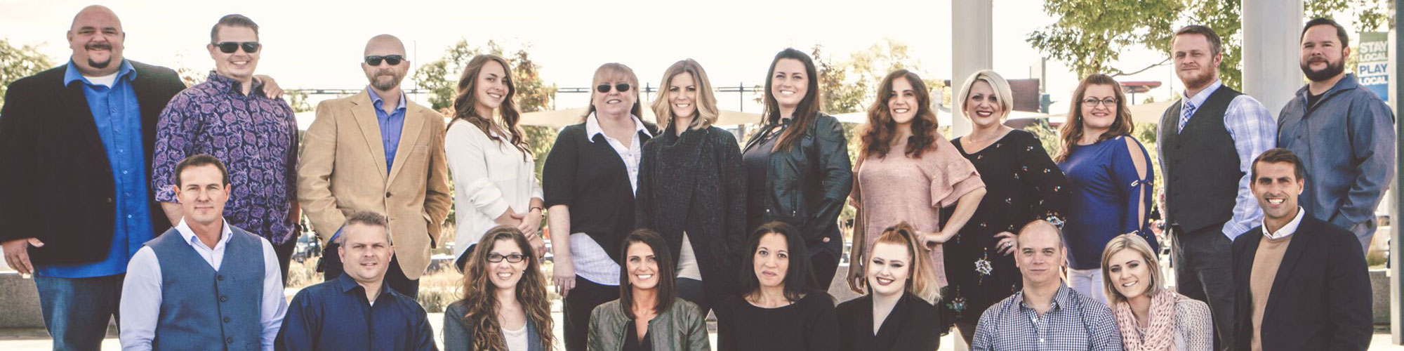 Image of the insurance agents and staff at Focus1 Insurance Group based in Portland, Bend, and Medford, OR